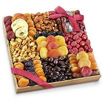 Golden State Fruit Extravagance Dried Fruit, Nuts and Treats Gift Tray