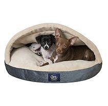 Serta® Canopy Comfort Pet Bed- Blue