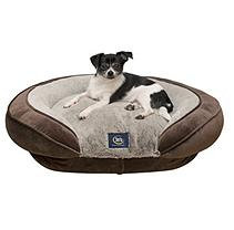 Serta Perfect Sleeper Oval Couch Pet Bed, 28