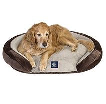 Serta Perfect Sleeper Oval Couch Pet Bed, 44