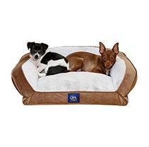 Serta Perfect Sleeper Memory Foam Blend Couch Pet Bed, 24