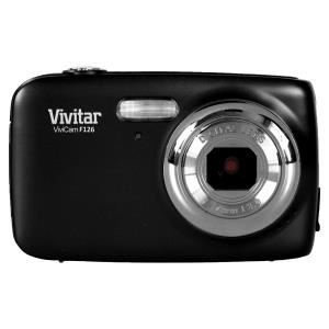 Vivitar ViviCam VF126-BLK 14.1 Megapixel Digital Camera - 4x Optical Zoom - 1.8-inch LCD Display - Black