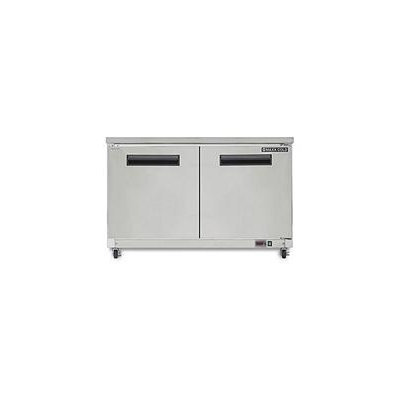 Maxx Cold X-Series 12 Cu. Ft. Undercounter Freezer in Stainless Steel MXCF48U
