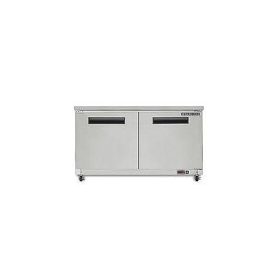 Maxx Cold X-Series 15.5 Cu. Ft. Undercounter Freezer in Stainless Steel MXCF60U