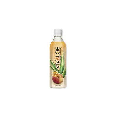 VIVALOE Peach Aloe Drink (16.9 fl. oz, 12 pk.)