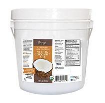 Tresomega Nutrition Organic Virgin Coconut Oil Pail