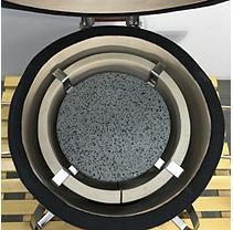 Vision Grills Dual Purpose Lava Stone / Heat Diffuser - Small