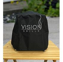 Vision Grills Full Length Grill Cover for Vision Cadet Kamado Grill
