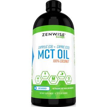 Zenwise Health C8 Plus C10 MCT Coconut Oil, 32 Fl Oz