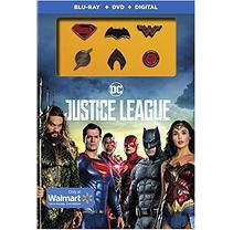 Warner Justice League: Exclusive Pins (Blu-ray + DVD + Digital)