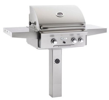 American Outdoor Grills 24 AOG In-Ground L Series Grill w/Burner and Light - NG
