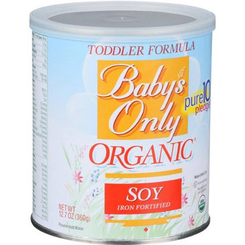 Baby's Only Essentials Baby's Only Organic Soy Organic Toddler Formula, 12.7 oz