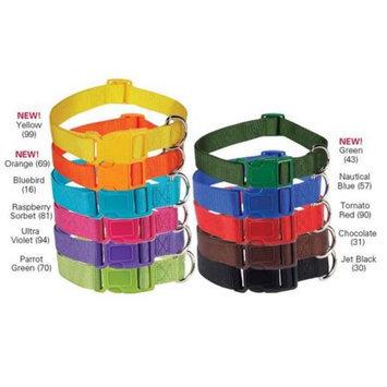 Petedge Dealer Services Nylon Collar Color: Yellow, Size: 14-20