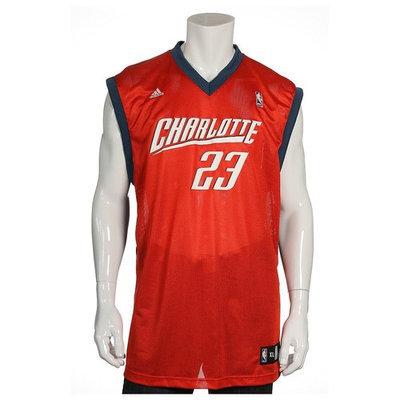 Adidas Orange NBA Charlotte Bobcats Jason Richardson Jersey , Size XLarge