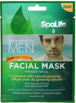 SpaLife Mens Infused Facial Mask