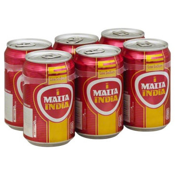 Cervecera De Puerto Rico Malta India Low Sodium, 6 - 8 oz cans