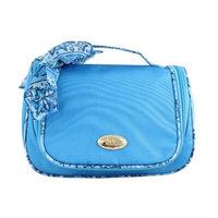 Jacki Design Polyester Summer Bliss Travel Hanging Toiletry Bag Blue