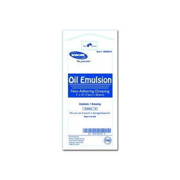 Invacare Oil Emulsion Dressing 3 x 16 in./Case of 216