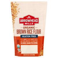 Arrowhead Mills Organic Gluten Free Brown Rice Flour, 24 Oz
