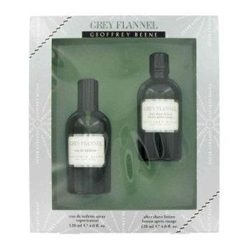 Grey Flannel by Geoffrey Beene for Men 2 Piece Set Includes: 4.0 oz Eau de Toilette Spray + 4.0 oz After Shave Pour