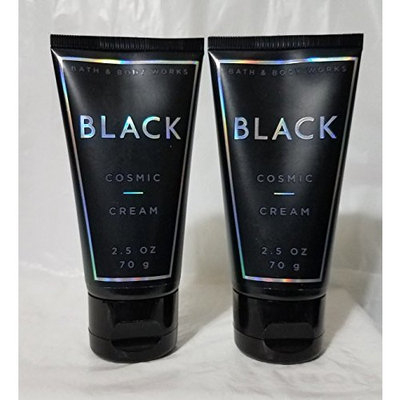 Bath and Body Works 2 Pack Black Cosmic Body Cream Travel Size 3 Oz.
