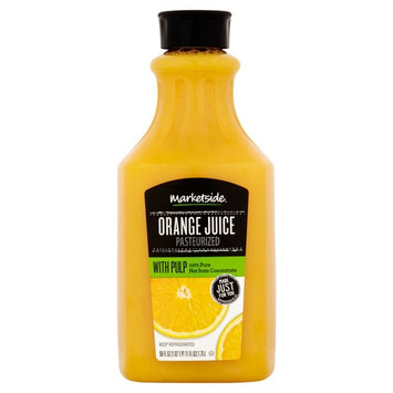 Marketside Orange Juice with Pulp, 59 fl oz