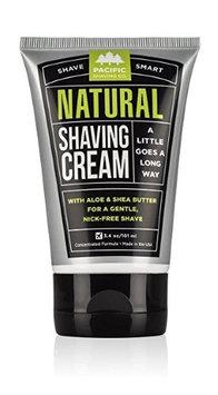 Pacific Shaving Company Natural Shaving Cream 3.0 oz.(pack of 12)