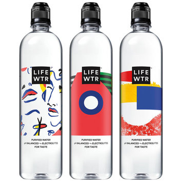 Lifewtr Purified Water, 23.7 Fl Oz, 12 Count