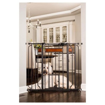 Carlson Walk Through Gate with Wood Accents