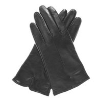 Pratt and Hart Women's Wool Lined Touchscreen Leather Gloves