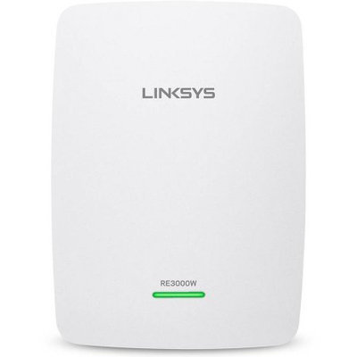 Linksys RE3000W-RM N300 WiFi Wireless Single Band Range Extender Booster Repeater 2.4 GHz Certified Refurbished
