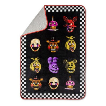 Five Nights at Freddy's Bed Blanket (Twin)