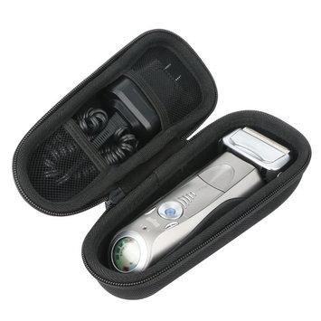 Khanka Hard Case Carrying Travel Bag for Braun Series 7 790cc-4 7898cc 799cc 720s-4 Men's Electric Foil Shaver Rechargeable Cordless Razor