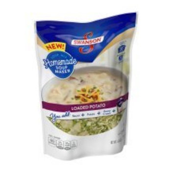 Swanson Homemade Soup Maker LOADED POTATO Cooks in About 30 Minutes (1-BAG) (NET WT 4.64 OZ)