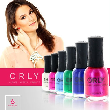 Orly Nail Polish Color Lacquer Set 6-Piece Collection #69