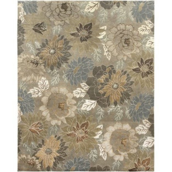 Synergy Modern Design Hand-Knotted Rug 6'x9'