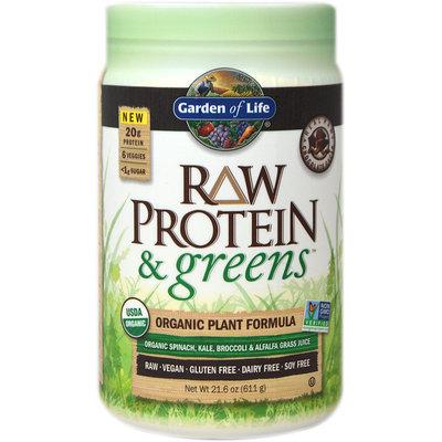 Garden Of Life Raw Protein & Greens Chocolate-21 oz Powder