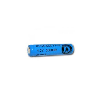AAA Size Rechargeable Battery 300mAh NiCd 1.2V Flat Top Cell FAST USA SHIP