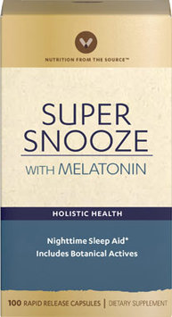 Vitamin World Super Snooze with Melatonin