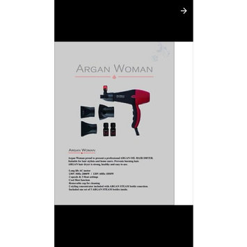 Argan Women ARGAN DRYER AW4600 TURBO Features Argan Oil Nozzle Integrated Technology To Optimally Synchronize Oil & Heat, Air-Flow & Drying, Hair Dryer... [argan Dryer Integrated Oil & heat]