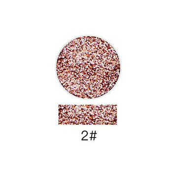 Creazy Lash Shining Glitter Highlight Diamond Lip Powder Eye Shadow Press Powder (B)