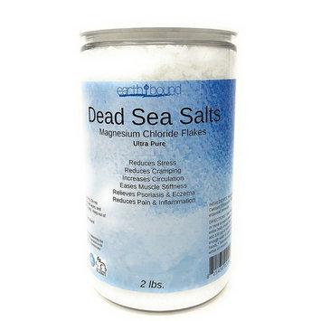 Ultra Pure & Natural Dead Sea Salt Magnesium Flakes | Professional Bath & Spa Premium Grade | EarthBound Hair, Skin & Body Luxury Minerals