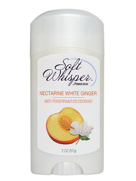 Soft Whisper Nectarine White Ginger Antiperspirant Deodorant Stick 2 oz.