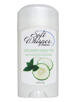 Soft Whisper Cucumber Green Tea Antiperspirant Deodorant Stick 2 oz.