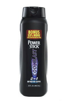 Power Stick 2-1 Cool Blast Body Wash 32 oz.