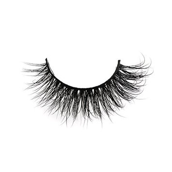 3D Mink Fur Fake Eyelashes Natural Mink False Lashes for Women's Makeup 1 Pair Package HS21