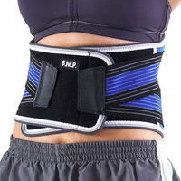 Black Mountain Products Waist Brace Blue M Stabilizing Lumbar Waist Brace, Blue - Medium
