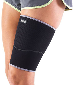 Black Mountain Products Inc Black Mountain Products Extra Thick Warming Blue Thigh Brace / Thigh Compression Sleeve - Therapeutic Warming Sensation.