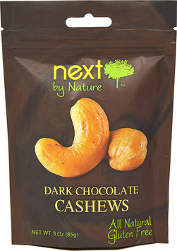 Next Organics Next by Nature Dark Chocolate Cashews 3 oz