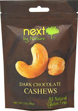 Next Organics Next by Nature Dark Chocolate Cashews 3 oz